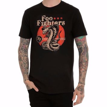 FOO FIGHTERS COBRA T-Shirt NWT Dave Grohl-Rock Band 100% Authentic