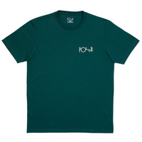 Fill Logo Tee (Deep Sea Green/White)