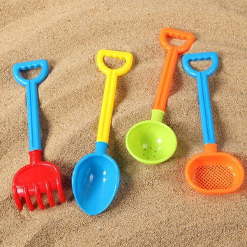 Easy Tools Kitchen Helper On Sale Hot Deal Home Children Toy Small Size Beach Shovel Set Spoon [10261281676]