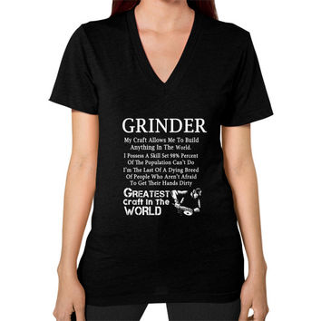 Grinder V-Neck (on woman)