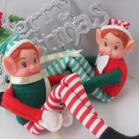 2 pieces - KNEE HUGGER DOLLS - Vintage