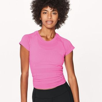 Lululemon Casual Running Gym Yoga Sport Shirt Top Tee