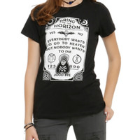 Bring Me The Horizon Spirit Board Girls T-Shirt