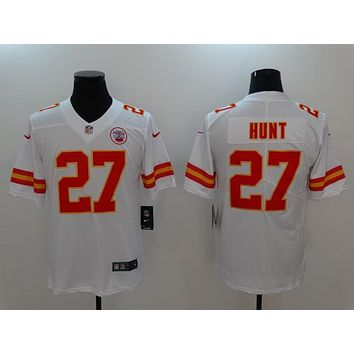 Danny Online Nike NFL Men's Vapor Untouchable Football Jersey Kansas City Chiefs #27 Kareem Hunt Kareem AJ Hunt