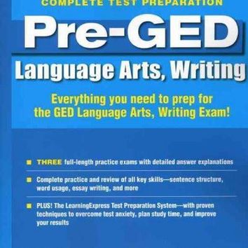 Pre-GED: Language Arts, Writing: Complete Test Preparation (Pre-GED)