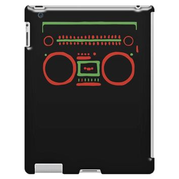 a tribe called quest   speaker hip hop the cutting edge iPad 3 and 4 Case