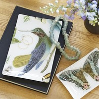 Bird & Butterfly Decoupage Trays