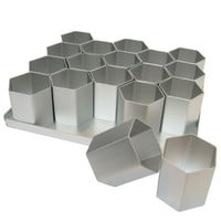 SK 18 Compartment Hexagonal Mini Pan