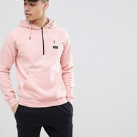 Nicce London Hoodie With Half Zip at asos.com
