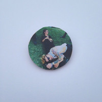 Matty Healy & George Daniel The 1975 Pin Button
