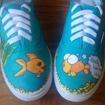 Custom Fish Tank Shoes By Imagineshoes On From Imagineshoes On