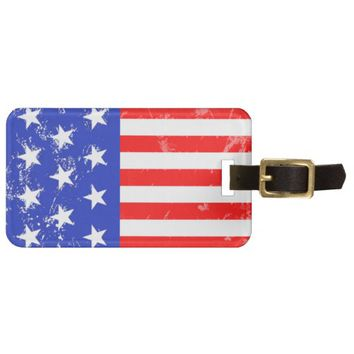 *I Love America Collection Luggage Tag