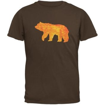 CREYCY8 Native American Spirit Bear Brown Youth T-Shirt