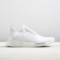 adidas NMD R1 Primeknit White Sneaker | Urban Outfitters