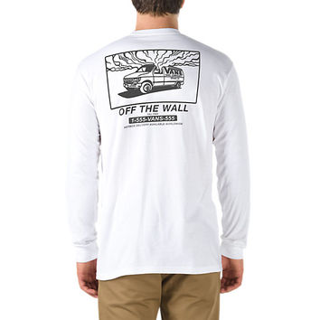 1-800 Vans Long Sleeve T-Shirt | Shop Mens T-Shirts At Vans