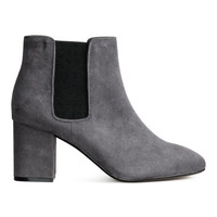 Block-heel Ankle Boots - from H&M