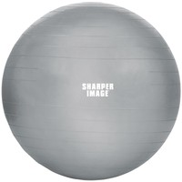 Sharper Image 65mm Balance Pro Fitness Ball (silver)