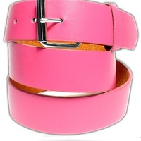 BELT ● Pink Leather