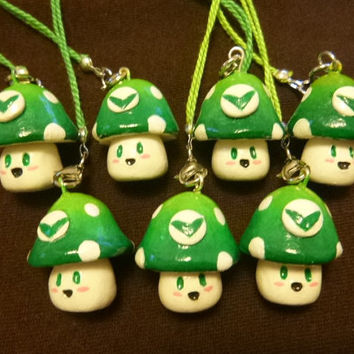 Vineshroom Keychain/ Cellphone charm