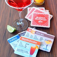 Cocktail Challenge Drink Mats