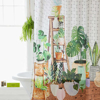 Plant Dreams Shower Curtain | Urban Outfitters