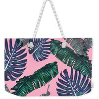 Pink And Palms Beach Bag
