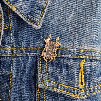 Cartoon pins and brooches Insect pin Badges Enamel pin Denim jacket tote bag backpack accessories Animal jewelry Insect jewelry