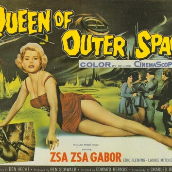 Queen of Outer Space 11x14 Movie Poster (1958)