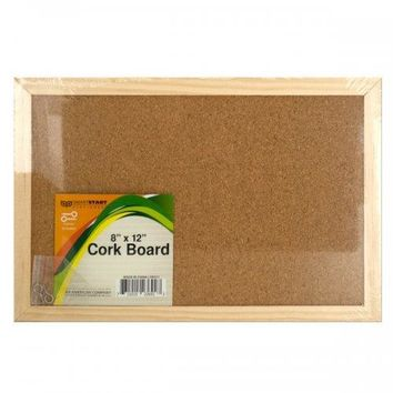 Wood Framed Cork Board (pack of 12)