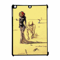 Salvador Dali Woman With Flower Head iPad Air Case