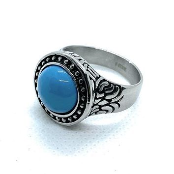 'Earth Legend' Navajo Inspired Ring (c181)