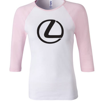 Lexus 3/4 Sleeve Baseball Ladies Jersey