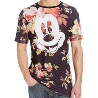 Disney neff Men's Mickey Face X Disney Colab Short Sleeve T-Shirt