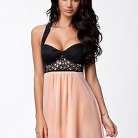 Baby Doll Trim Dress, Elise Ryan