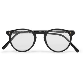 Oliver Peoples O'Malley Round-Frame Optical Glasses | MR PORTER