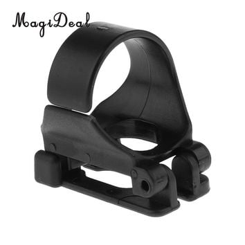MagiDeal Universal Plastic Clip Snorkel Keeper Retainer Replacement for Attaching Mask Strap Scuba Diving Snorkeling Equipment
