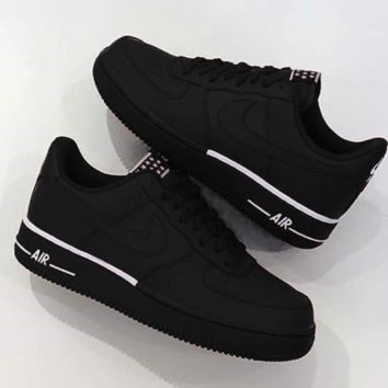 Free Shipping  NIKE AIR FORCE 1  07 2018 new low-cut men s casua 4f4a659e0b