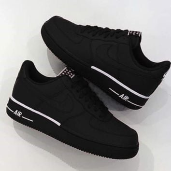 Free Shipping: NIKE AIR FORCE 1 '07 2018 new low-cut men's casual sports running shoes