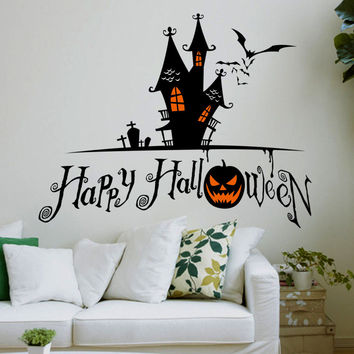 Halloween Glass Hot Sale Wall Sticker [6439092100]