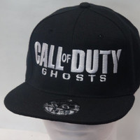 Call Of Duty Ghosts Zombie Snapback hat cap Video Game men women teens Free Shipping