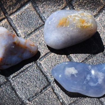 BLUE LACE AGATE Peace Tranquility, Blue Chalcedony, Astral Projection, Throat Chakra Crystal