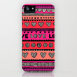 Love Pattern iPhone Case by Chulabird | Society6