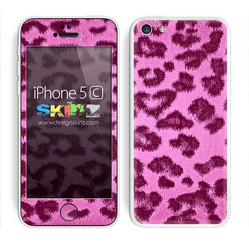 Hot Pink Cheetah Skin For The iPhone 5c