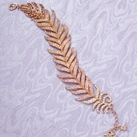 ideeli | DISNEY COUTURE Pocahontas Feather Bracelet