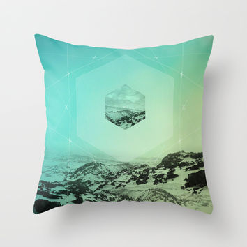 A Place Called Elsewhere Throw Pillow by Soaring Anchor Designs