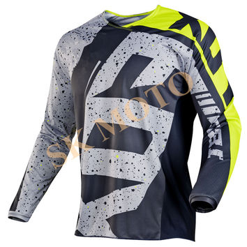 2017 New Top Clothing cube Nirv 180 Hc Motocross Motorcycle Long Sleeve Racing T-shirt Dirt Bike Cycling Dh Mx Atv Jerseys