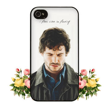 Eat the Rude Hannibal NBC Fannibal iPhone 4 4s 5 Case Will Graham Quote Hugh Dancy Mads Mikkelsen for iPhone or Samsung Galaxy S3