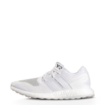 White Pure Boost Sneakers by Y-3