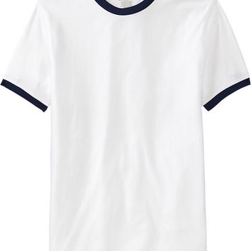 Old Navy Mens Classic Ringer Tees