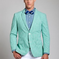 Bonobos Men's Clothing | The Beauregard Blazer - Green Gingham
